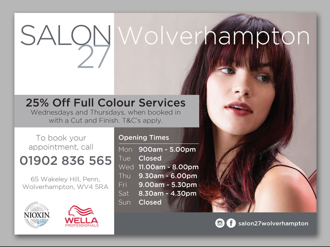 Magazine advert design wolverhampton